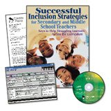 Successful Inclusion Strategies for Secondary and Middle School Teachers and IEP Pro CD-ROM Value-Pack, Gore, Mildred C. and Steel, Lawrence, 1412941989