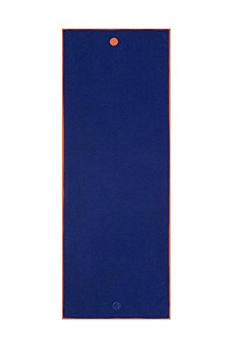 Manduka Yogitoes Mat Towel - Solid Chakra Blue One Size
