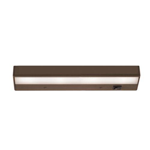 "WAC Lighting BA-LED4-27-BB 2700K Warm White LEDme 120V Light Bar, 12"", Brushed Bronze"