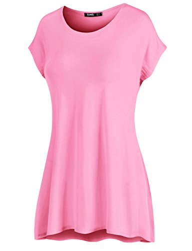 Soft Pink Plus Size Shirt: Amazon.com