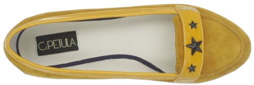 C. Petula Amour, Damen Mokassins Gelb (Yellow)