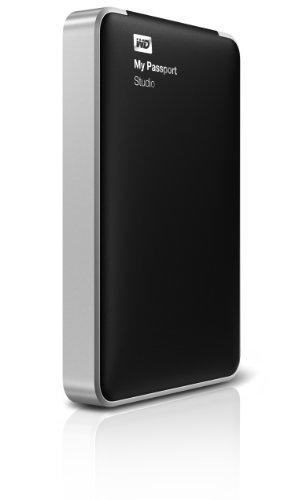 (WD My Passport Studio 1TB Mac Portable External Hard Drive Storage FireWire)