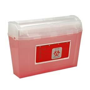 Bemis Biohazard Sharps Container 3 Quart by Bemis Health Care (Image #1)