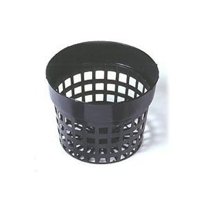 Round Net Pots 6 inch, Heavy Duty (Pack of 6) (Net Pot Round)