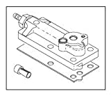 Control Block Cap Assembly for A-dec ADA166