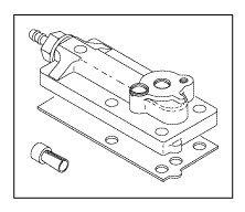 Control Block Cap Assembly for A-dec ADA166