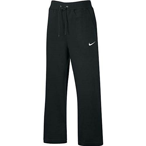Nike Womens Team Club Fleece Pant (Medium, Black/White) (White Room Pant)