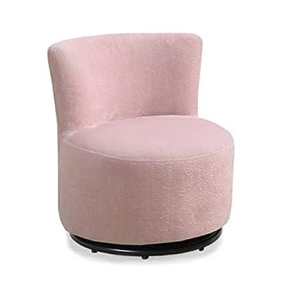 Tremendous Amazon Com Rosebery Kids Swivel Chair In Pink Toys Games Machost Co Dining Chair Design Ideas Machostcouk