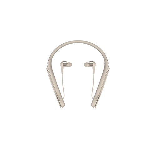 Sony WI1000X/N Wireless Bluetooth Noise Cancelling Headphones With Micro USB Car Charger - Gold by Sony (Image #2)
