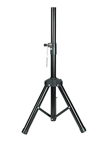 """Precision Speaker Stand with adjustable height from 25.5"""" to 58"""" and 35mm Diameter Universal Tripod w/ Support Plate by Precision"""