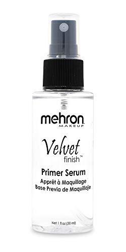Mehron Makeup Velvet Finish Pre-Foundation Skin Primer (1 oz) (Best Velvet Finish Foundation)