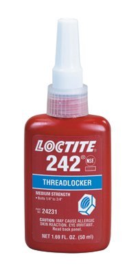 Loctite 24231 Threadlocker 242 Removable - 50 Ml Bottle 2 PACK by Loctite