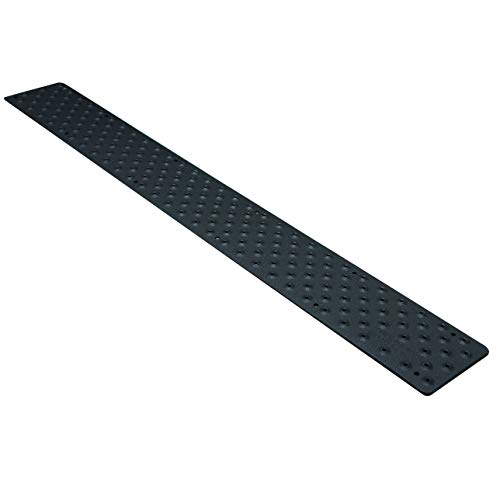 HandiTreads NST103748BKB Handi Non Slip Aluminum, Powder Coated Black,  3 75