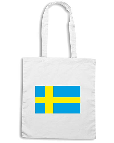 Speed FLAG Shopper SWEDISH Bianca Shirt Borsa TM0247 0wWr1xq0gS