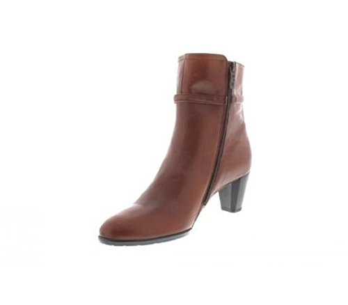 Leather 43465 and Boots Brown Black 12 Women's and ara Ankle Brown 36 07 Ladies ZTzqPSw