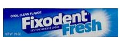 Fixodent Fresh Denture Adhesive Cream 2.4 oz. (3-Pack)
