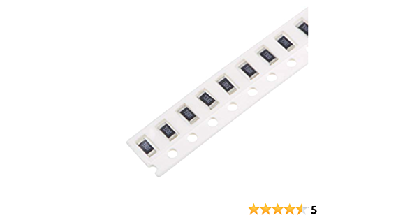 uxcell SMD Chip Resistor 5/% Tolerance 300pcs 330 Ohm 1//8W 0805 Fixed Resistors