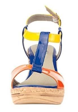 Sandalia de tacón alto de barniz sintético de Best Connections Más Colores