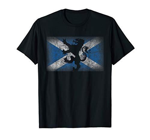 (Scotland Flag Lion Rampant Shirt Scottish Pride Gift)