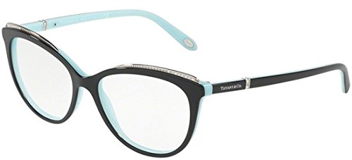518600ce932b Tiffany   Co. TF2147B 8055 52mm Black Blue Eyeglasses