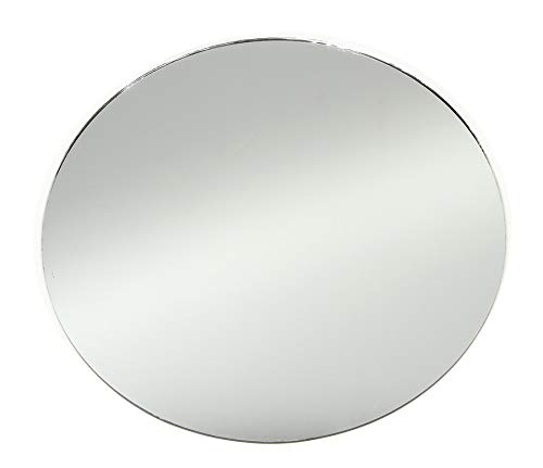 round glass mirror 6ins