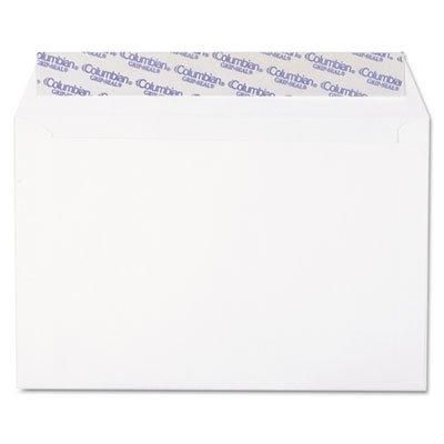 Columbian CO330 Grip-Seal Booklet Envelopes, Plain, 24lb, 6'x9', 250/BX, WE