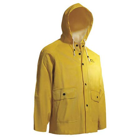 Webtex Jacket W/Attached Hood, Yellow, S