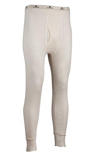 Indera Men's Maximum Weight Thermal Underwear Pant, Natural, XX-Large ()