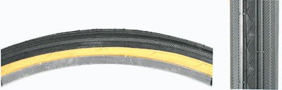 **Set of 2** Sunlite Kenda K40 Street Tires, 26 x 1-3/8, Wire, Black/Gumwall (Bicycle Tires 26 X 1 3 8 compare prices)