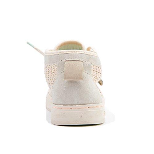 Satorisan 181010 Hamoru YESO Rose Chaussures Beige Lacets Milieu Bianco q2vzE