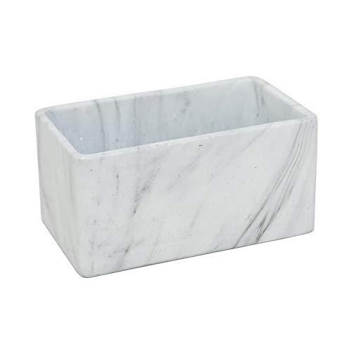 white marble flower pot - 7