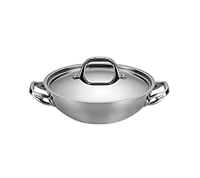 Anolon 3-qt. Stainless Steel Tri-Ply Clad Covered Braiser + GET THIS FREE see offer details
