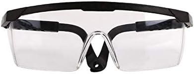 防曇/防風/保護安全ゴーグル、調整作業安全眼鏡の研究所/サイクリング/ファミリー (Color : Black, Size : 1 pack)