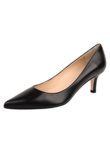 Jon Josef Womens Chance Pump 6 M Us Black Leather