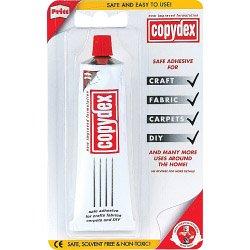 Copydex - Pegamento de caucho de lá tex adhesivo fuerte 50 ml x 12 tubos Henkel