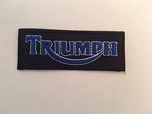 4 CM BLUE HAWAI ECUSSON Patches AUFNAHER Toppa THERMOCOLLANT Triumph 10