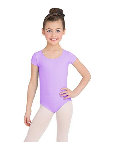 Large Product Image of Capezio Girls' Team Basic Short Sleeve Leotard
