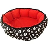 Petnap Round Red Heated pet heat pad pet cat dog bed Item 604