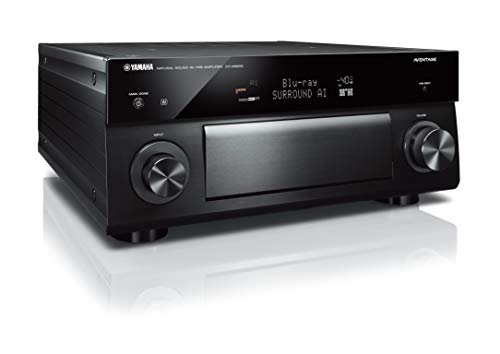 (Yamaha CX-A5200 AVENTAGE 11.2-Ch AV Preamplifier with 4K Ultra HD HDR Dolby Vision Dolby Atmos Wi-Fi Phono & MusicCast Black)