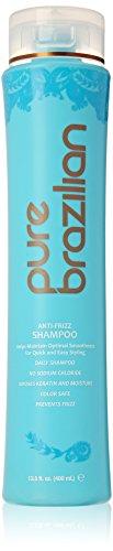 Pure Brazilian - Anti Frizz Daily Shampoo With Pump- Salt-Fr