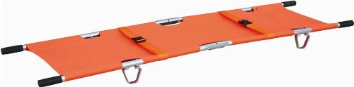 Foldaway Stretcher Ambulance Emergency Orange Aluminum Ne...