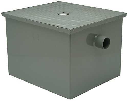 Zurn GT2700-25-3NH - Grease Trap Interceptor, 3 In, 25 GPM Zurn Grease Traps