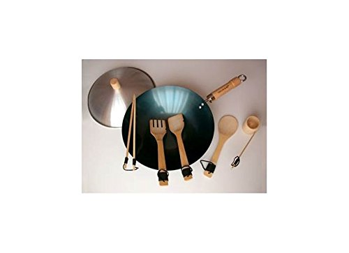 Taylor & Ng Natural Nonstick 12135 Wok Set, 12