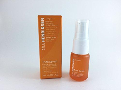 Serum Truth - OLE HENRIKSEN Truth Serum Collagen boosted with True-C Complex .25 oz Mini