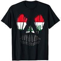 Iraq flag Skull Shirt