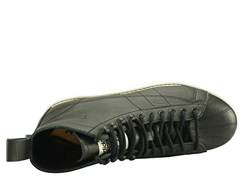 41 W Adidas Boot Superstar Black White qWX4BF