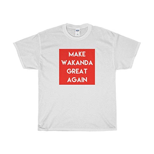 Funny Conservative Novelty T-Shirt - Make Wakanda Great Again T-Shirt - Perfect for Republicans | Men & Women - Unisex