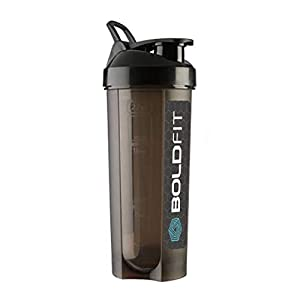 Boldfit Gym Typhoon Shaker Bottle 650Ml, 100% Leakproof Guarantee Sipper Bottle Ideal for Protein, Preworkout and Bcaas…