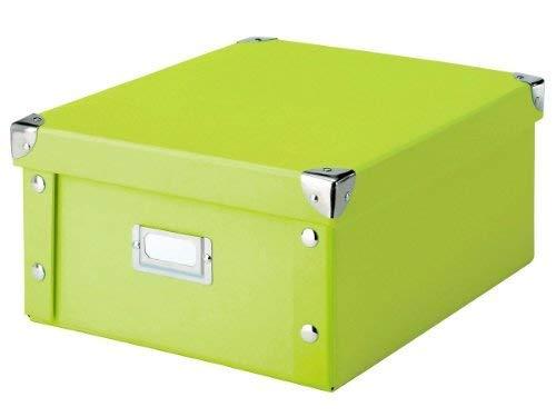 31 x 26 x 14 Zeller 17812 Boite de rangement en carton vert