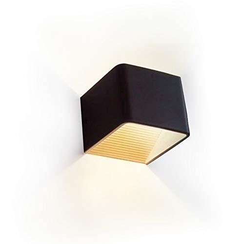 (Awakingdemi Wall Sconces, Modern 5W LED Wall Mounted lamp, Warm Light Indoor Bedside Lamp Corridor Lights, LED Up Down Wall Light)